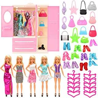 Ropa De La Mu/ñeca De La Sirena De Los Trajes De Ba/ño De Verano Bikini Traje De Ba/ño Para La Mu/ñeca De Barbie 29cm 2set