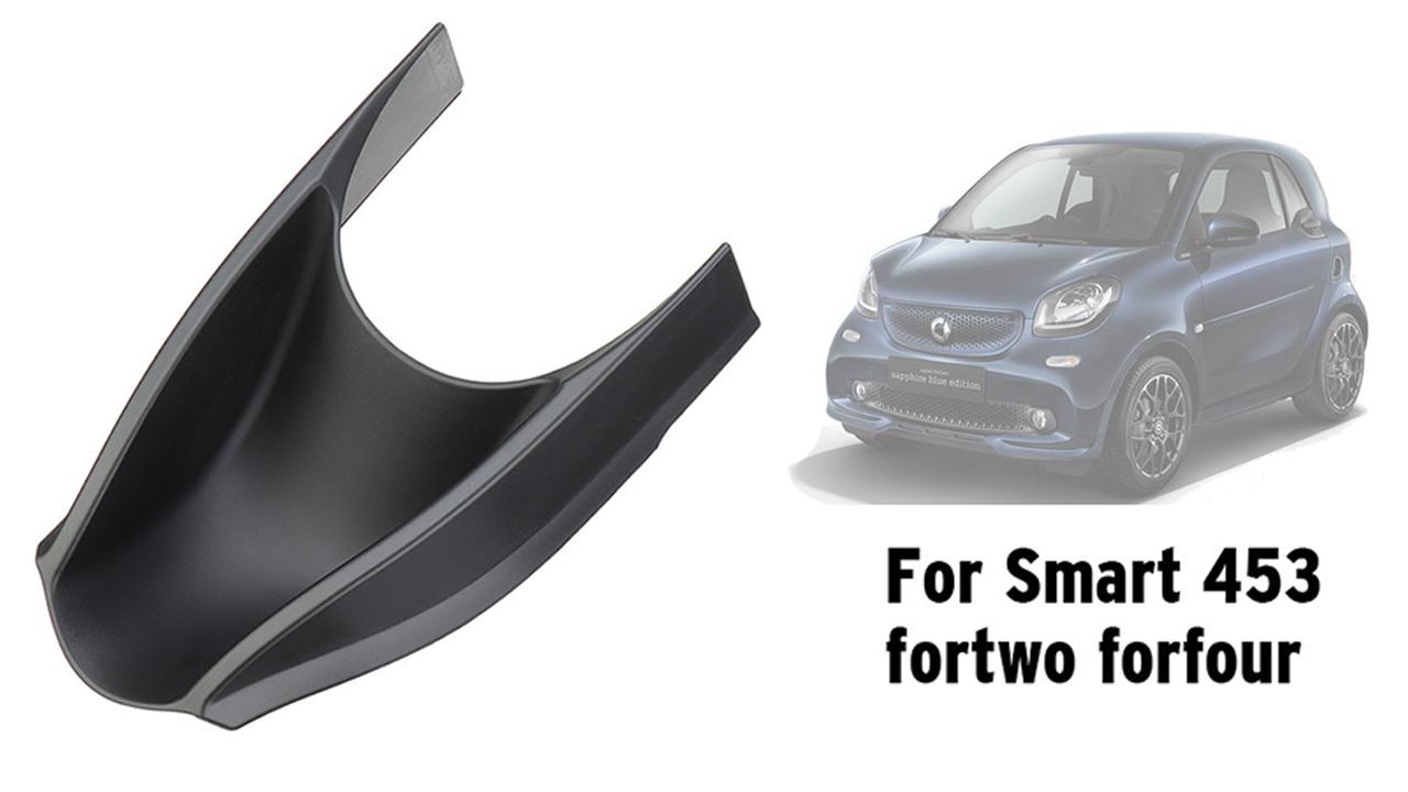 Fiemach Mittelkonsole Aufbewahrungsbox Für Smart 453 Fortwo Forfour 2015 2019 Aufbewahrung Für Handys Schlüssel Karten Münzen B Auto
