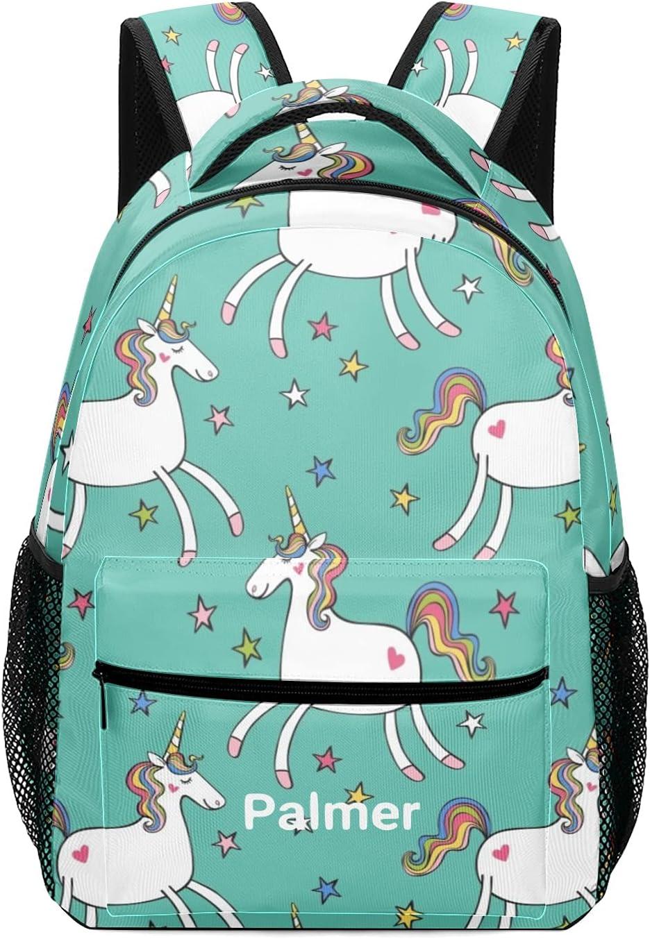 Personalized half Cartoon Unicorn Schoolbag Ranking TOP5 Waterproof Backpack Daypa