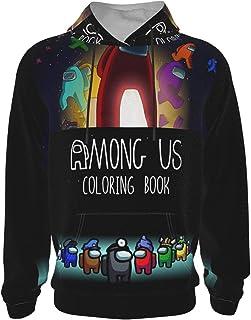 EAROBA Teenage Hoodie Sweater Among Us New Warm Fashion Sweatshirts for Boys/Girls/Teen/Kid's Unisex-Baby