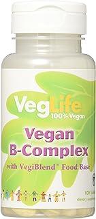 VegLife B-Complex Vegan Tablet, 100 Count
