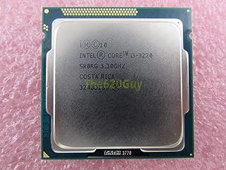 Intel Core i3-3220 3.3GHz 3.30GHz 3M SR0RG Socket 1155 Ivy Bridge CPU Processor (Renewed)