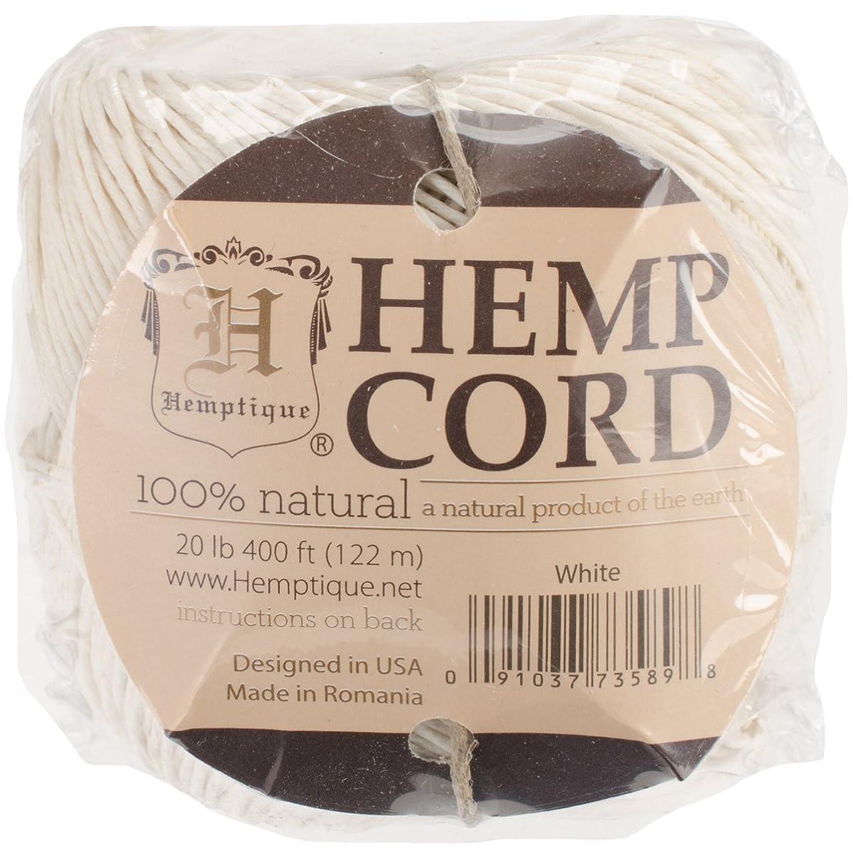 Hemptique Hemp Ball, 400', White