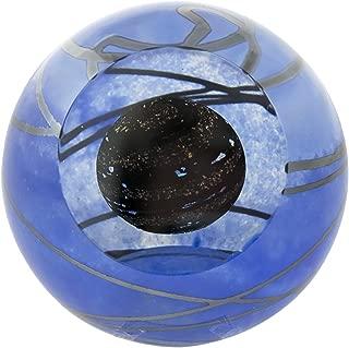 Glass Eye Studio Planet 9 Solar System Celestial Paperweight