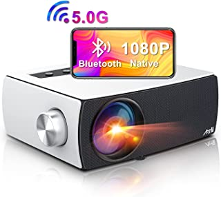 Artlii Enjoy3 Bluetooth 5GWiFi プロジェクター 8500lm リアル1980*1080P スマホに直接接続 75%ズーム機能 台形補正 家庭/ビジネスに適用 USB/iPhone/スマホ/タブレット/パソコン/ゲー...
