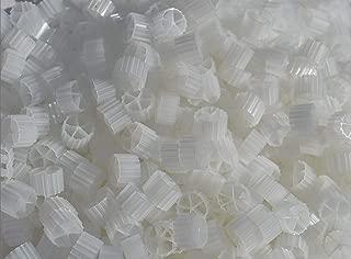 7.6 liters (2 Gallons) K2 Filter Media Moving Bed Biofilm Reactor (MBBR) for Aquaponics Aquaculture Hydroponics Ponds Aquariums by Wholesale Koi Farm (7.6 liters, 2 gallons)