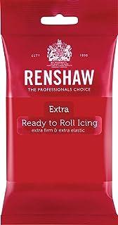 Pâte à sucre EXTRA - Rouge - 250gr - Renshaw