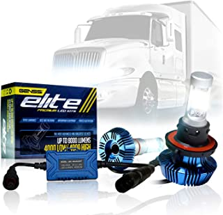 LED Conversion Kit Bulbs Compatible with International ProStar Pro Star 2008-2018 Truck Headlight Lamp Low Beam