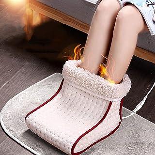 Ajustes 5 Modos de calor lavable caliente de calor calentador de pies acogedor eléctricos y calefactados