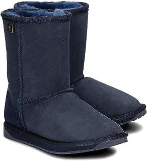 mejor oferta EMU EMU EMU - botas de Cuero para Mujer Azul ail  ahorra hasta un 50%