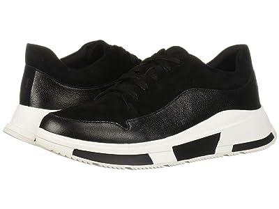 FitFlop Freya Sneaker (Black Suede) Women