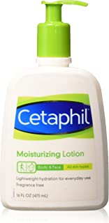 Cetaphil Moisturizing Lotion, Fragrance Free, 16 Ounce