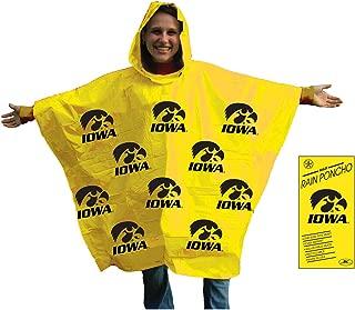 NCAA Unisex Rain Poncho