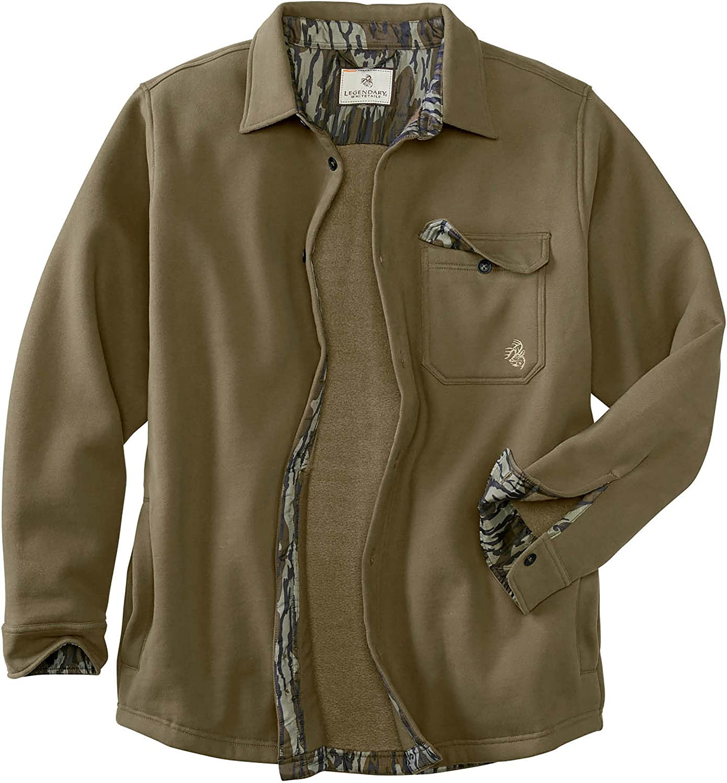Legendary Ranking TOP15 Whitetails Men's Max 66% OFF Big Jacket-Button Shirt Woods Fleece
