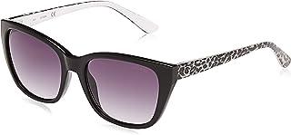 Guess Cat Eye Sunglasses for Women - Gradient Smoke Lens, GU7593-05B-54