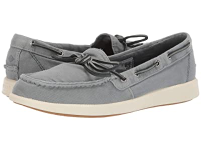 Sperry Oasis Canal Canvas (Slate Blue) Women