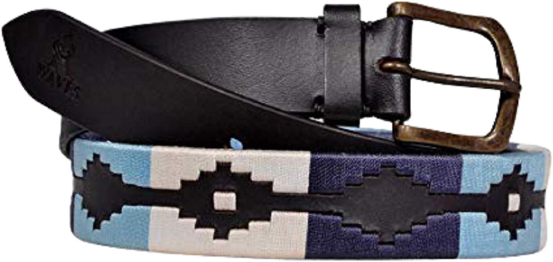 RWaves Argentine Belts  Polo Belts Hand Woven Belt Unisex belt Polo belt Leather Belt Men Belt Ladies Belt Fashion Belt  RP044
