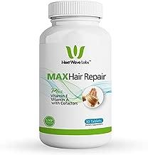 Next Wave Labs Max Hair Repair, Biotin + Vitamin A, Vitamin E, Niacin, and Selenium for Hair Nourishment, Hair Strength 90 Servings