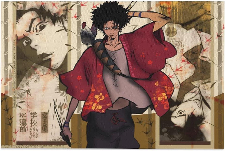 Samurai Champloo Japanese Popular Metal Anime Nostalgic outlet Max 47% OFF Manga39