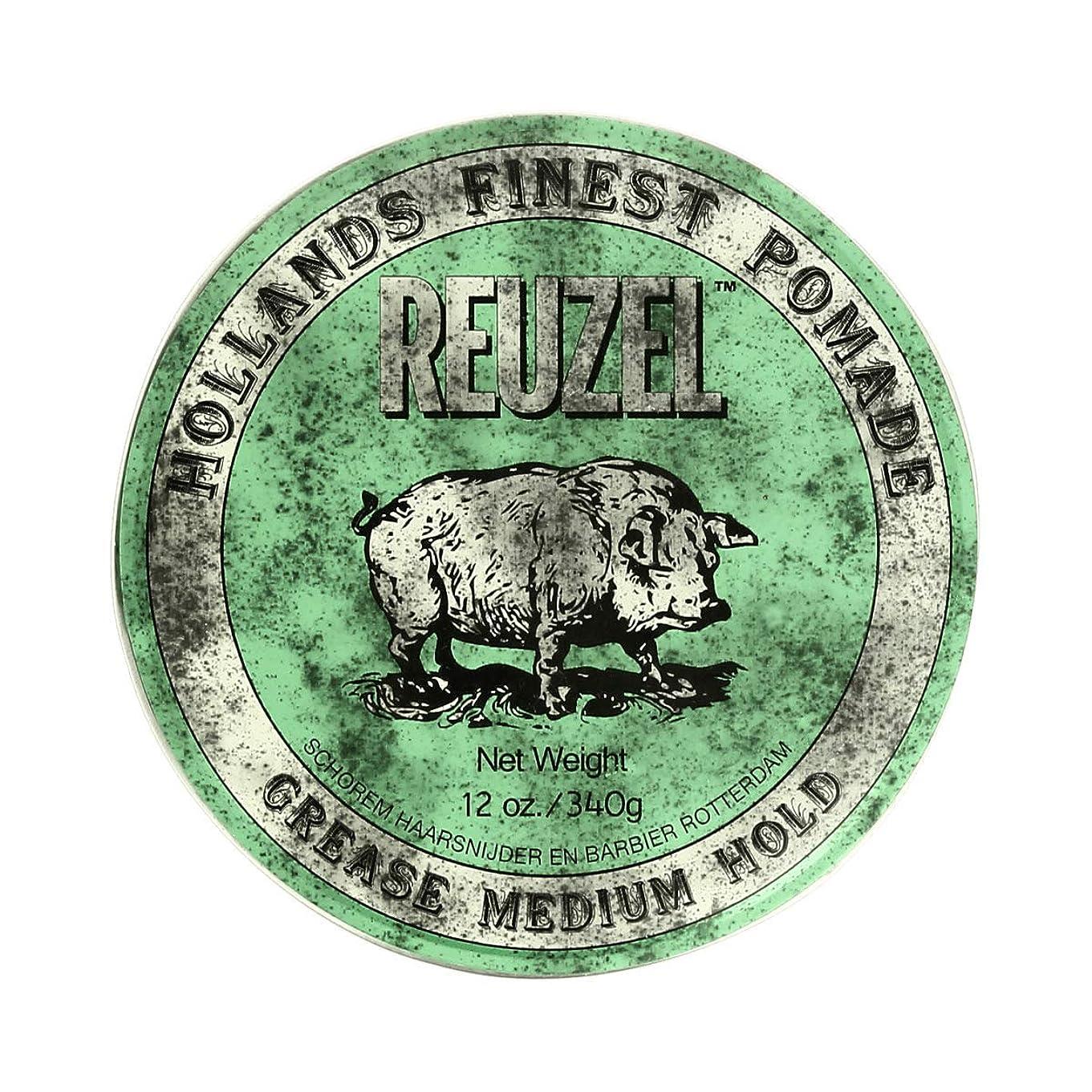 ステレオストレスの多い改修するREUZEL ルーゾー グリースポマード ミディアムホールド 340g[海外直送品] [並行輸入品]