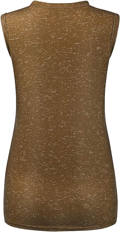 AODONG Women Tank Tops, Womens Summer Sunflower Cute Printed Vest T-Shirt Sleeveless Casual Workout Blouse Tunic Tee