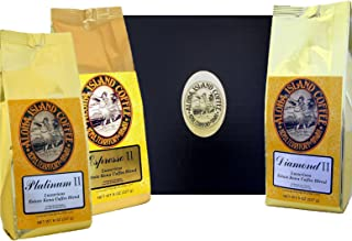 Best Coffee of the Month Club Gift, Six Months Variety of Luxurious Kona Coffee Blend, Whole Bean, First Shipment Is Gift ...