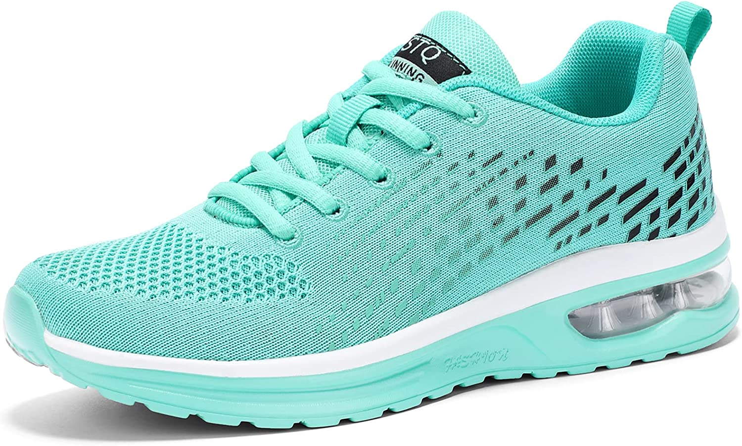 overseas STQ Women's Running Shoes Air Cushion Breathable Sneakers Max 81% OFF