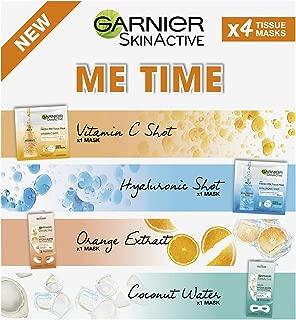 Garnier SkinActive Me Time Multi-Mask Pack 4 Masks