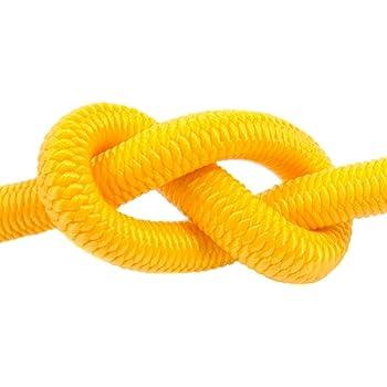 5m corde /élastique c/âble 8mm noir plusieurs tailles et couleurs