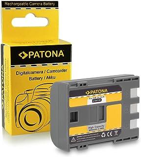 PATONA Bateria NB-2LH 600mAh Compatible con Canon EOS Digital Rebel Xti de Calidad Probada y fiable