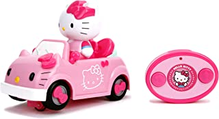 Jada Toys Sanrio Hello Kitty Remote Control Car, Pink, updated IR Feature