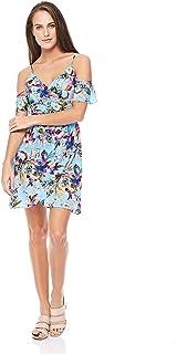 Trendyol A Line Dress for Women - Blue, Size M