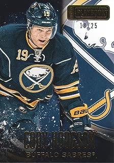 2013-14 Panini Playbook Hockey Gold #9 Cody Hodgson 01/25 Florida Panthers