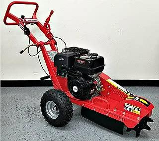 Stump Grinder 15 HP 420cc 4 Stroke Gas Engine Walk Behind Tree Stump Removal Wood Cut 12 Inch Cutting Wheel 3600 RPM Model SMS-15HPSG