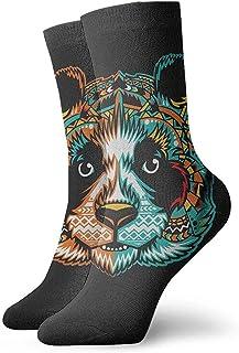 iuitt7rtree Pandamonium Tobillo Calcetines Casual Divertido para Sports Boot Senderismo Running Etc. calcetines7150