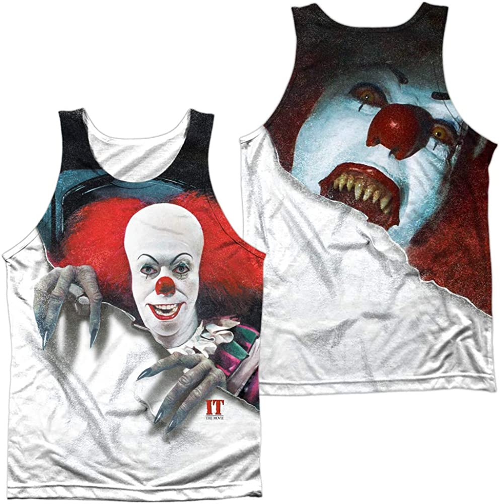 It Soldering TV Miniseries Pennywise Unisex Bargain f Top Adult Tank Sublimated