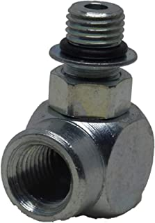 """Dixie Chopper 3/8"""" x 1/4"""" 90 Degree O-Ring Fitting for Lawn Mowers DUP-67017 3066LP, 3074LP, 3360, 67017, Classic 2550"""