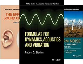 Wiley Series in Acoustics Noise and Vibration (6 Book Series)
