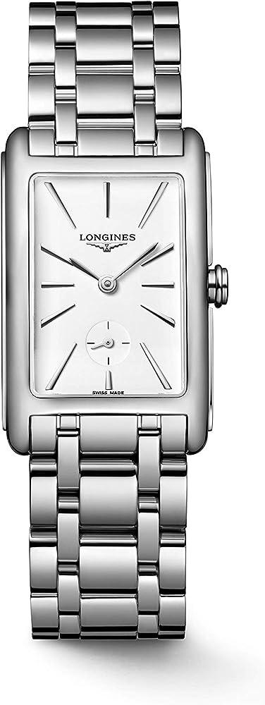 Longines orologio per donna in acciaio inossidabile L5.512.4.11.6