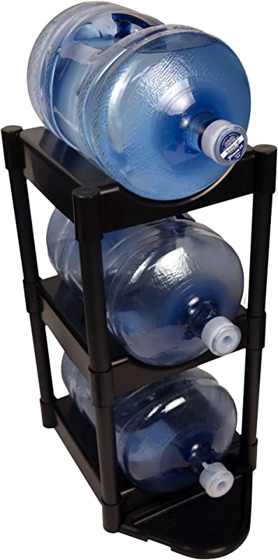 Bottle Buddy 3 Tier With Floor Protection Kit Black