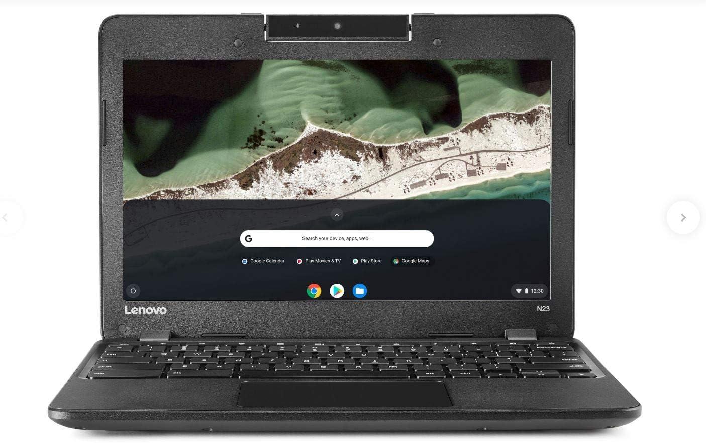 Lenovo N23 11.6 inches Chromebook PC - Intel N3060 1.6GHz 4GB 16GB Webcam Chrome OS (Renewed)