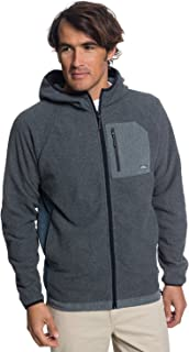 Quiksilver Men's Bigger Boat Zip Hoody Fleece Jacket