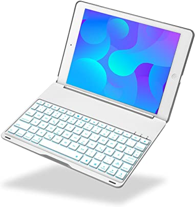 iEGrow Tastatur Kompatibel mit Neues iPad 2018 9 7 Neues F8S Tastatur f r Neues iPad 9 7 Zoll 2018 2017 und iPad Air QWERTZ deutsches Tastaturlayout Silber Schätzpreis : 55,99 €