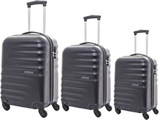 American Tourister Preston Hardside Spinner Luggage set of 3pieces with TSA Lock