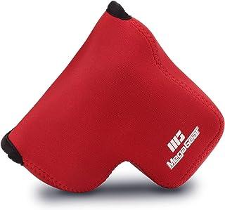 MegaGear MG1673 - Funda de Neopreno para cámara Nikon Coolpix B600 Color Rojo