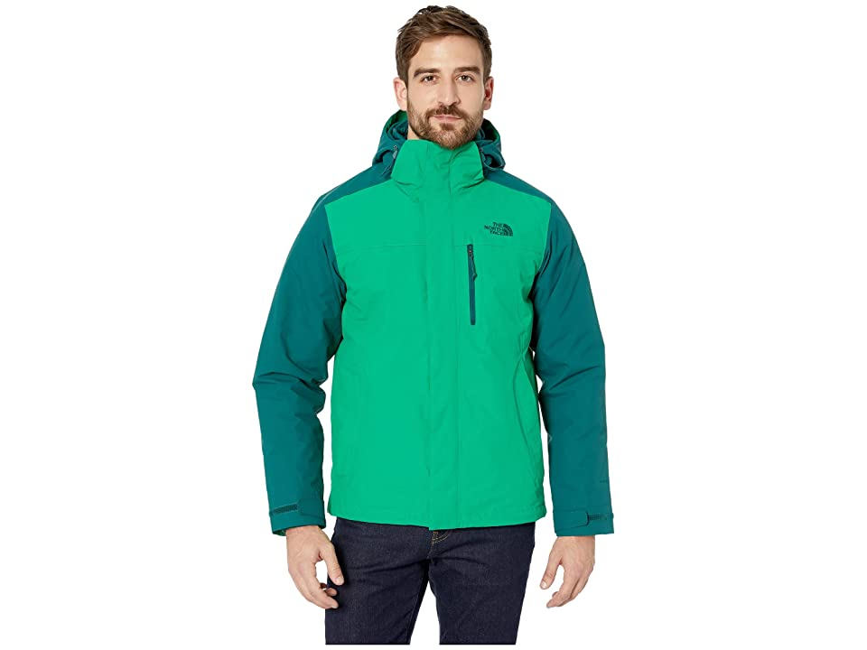 The North Face Carto Triclimate Jacket (Primary Green/Botanical Garden Green) Men
