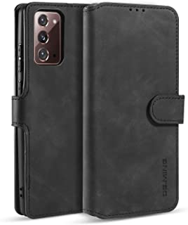 DG.MING Wallet Case for Samsung Galaxy Note 20 Ultra, Premium Leather Wallet Phone Case Vintage Leather with Viewing Stand...