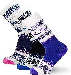 Kids Merino Wool Ski Socks – Snow Sock for Boys, Girls, Children – Snowboard