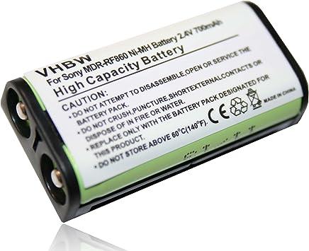 BATTERIA NI-MH 700mAh (2.4V) sostituito Adatto per SONY BP-HP550-11