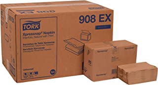 Tork 908EX Universal Xpressnap Dispenser Napkin, Interfold w/Env Print, 1-Ply, 8.5